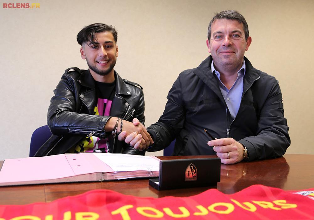 Premier contrat pro pour Adam Oudjani