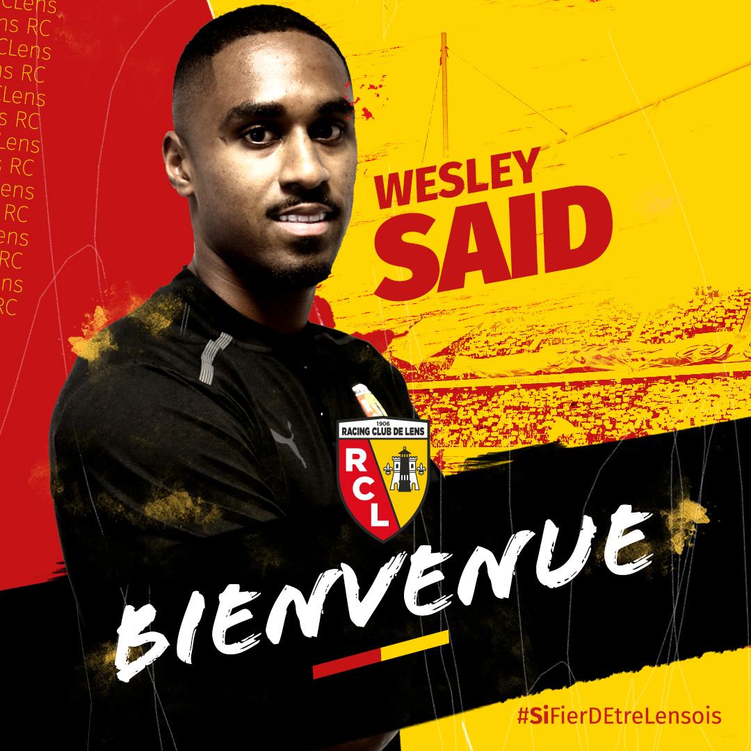 Wesley Saïd est lensois
