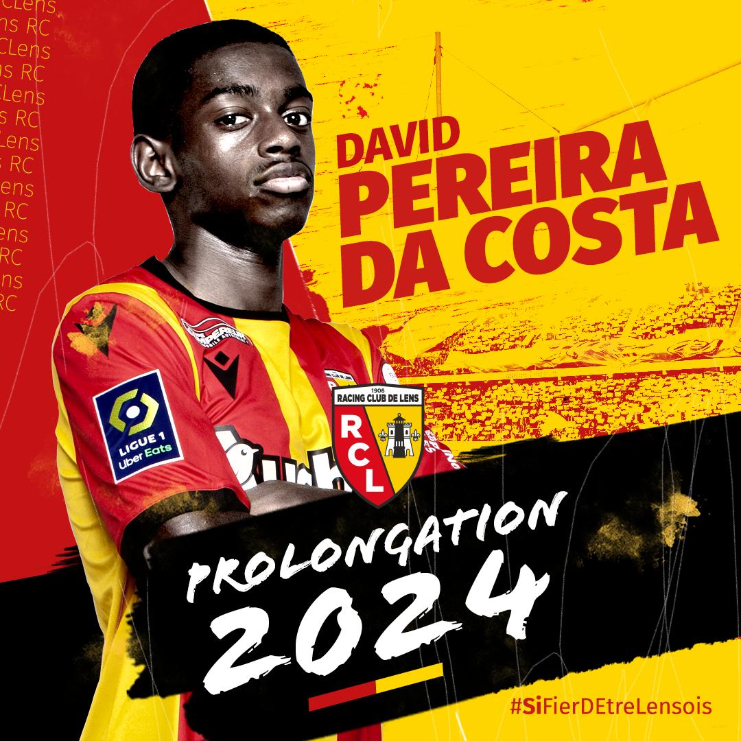 Prolongation de David Pereira Da Costa rclens