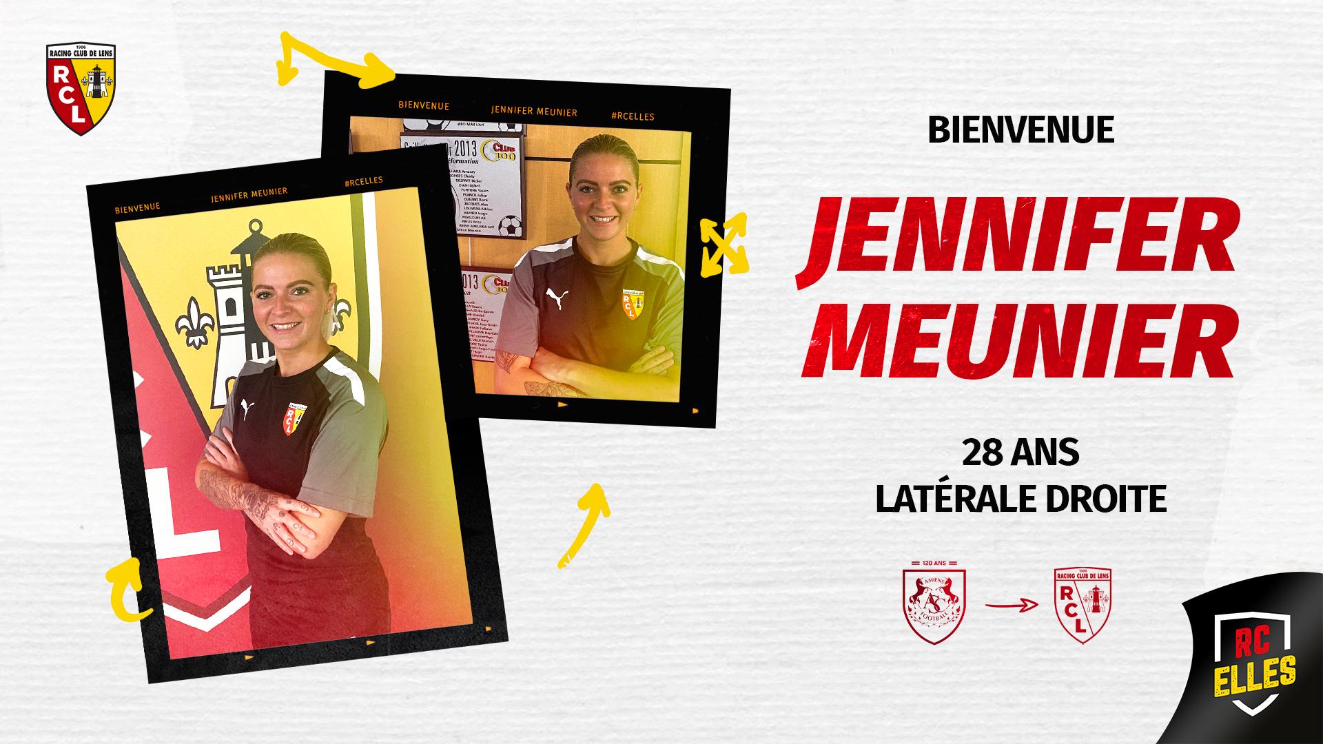 Avec Jennifer Meunier, la D2F gagne en maturité !