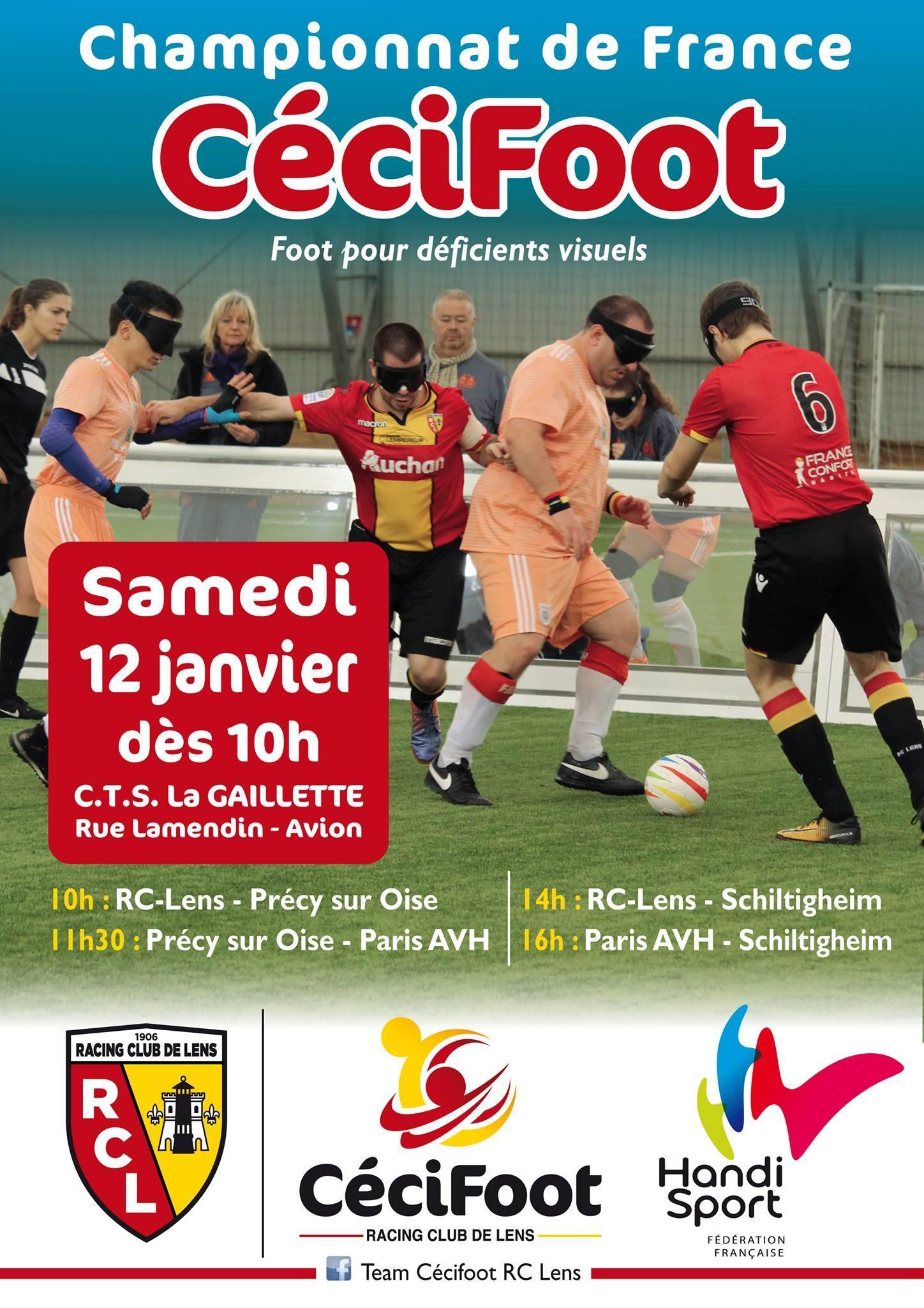Cécifoot RC Lens, 3e journée de championnat