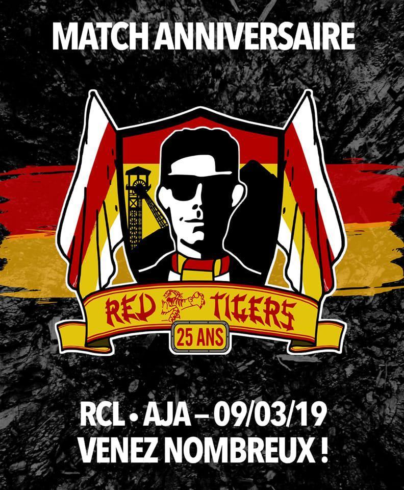Les Red Tigers fêtent leurs 25 ans !