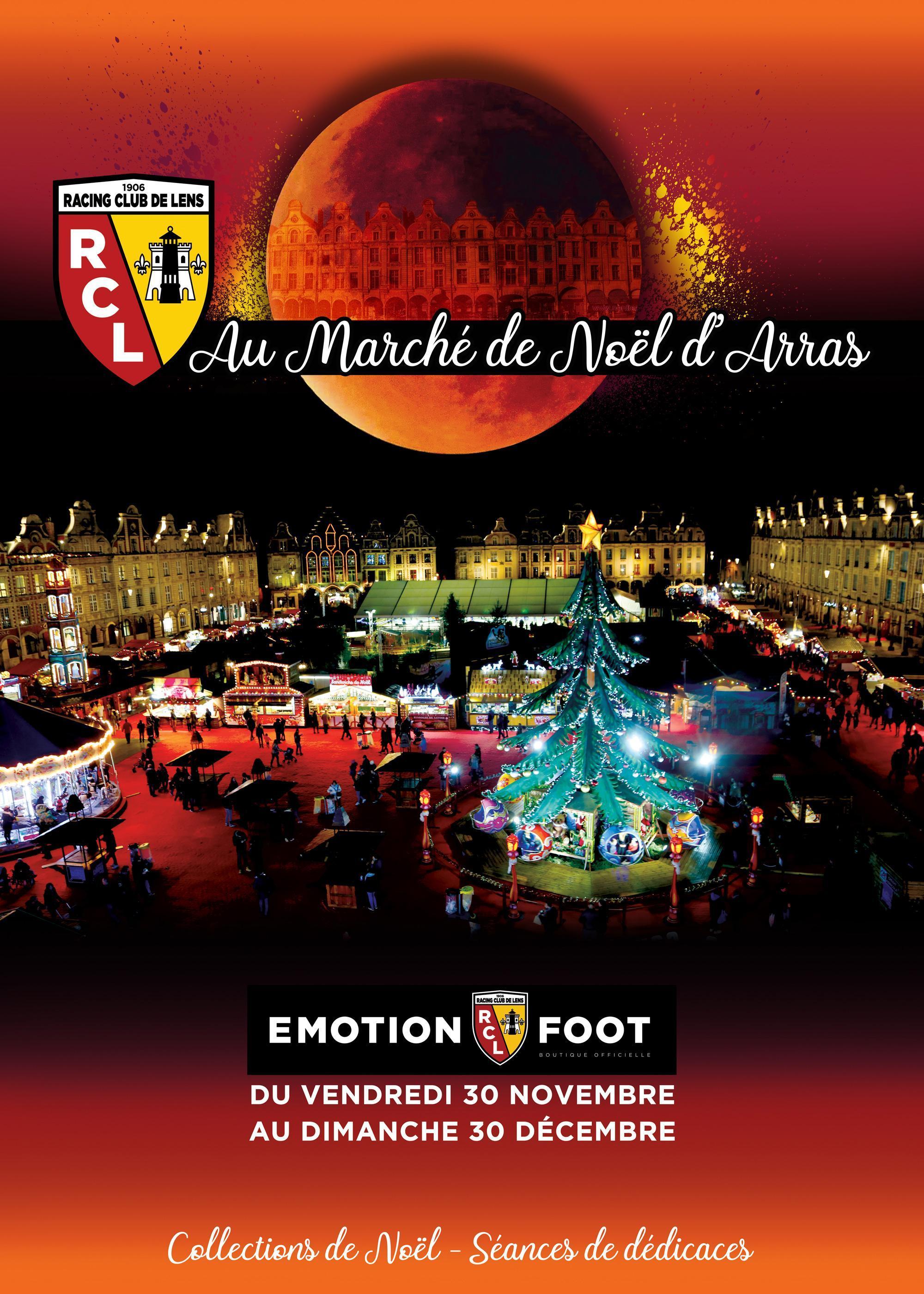Emotion Foot au Marché de Noël d'Arras