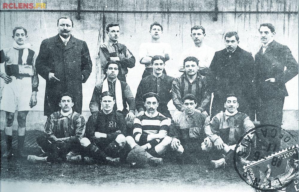Equipe 1908-1909