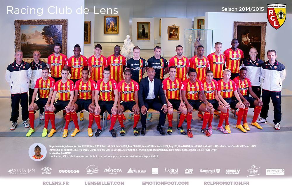 Equipe 2014-2015