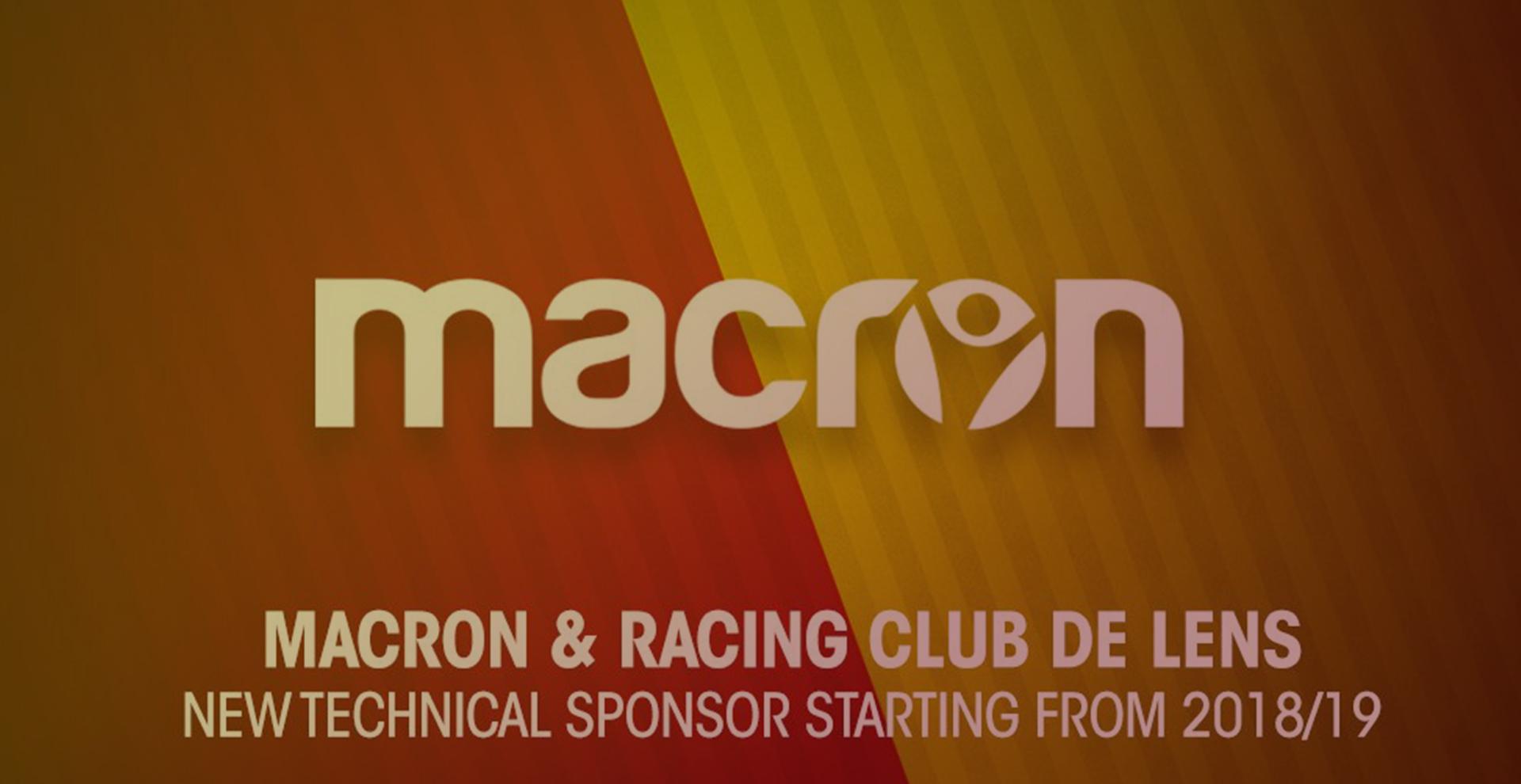 Macron, nouvel équipementier du RC Lens ! | RC Lens