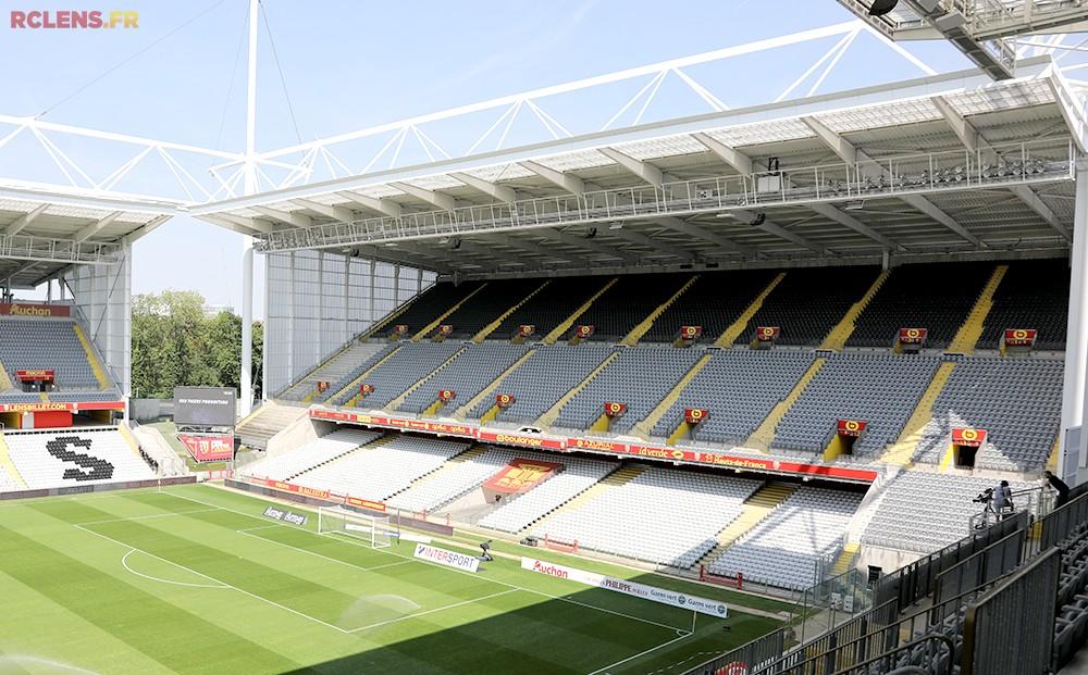 3D Model Stadium football Lens Maquette Stade Bollaert Delelis RC LENS